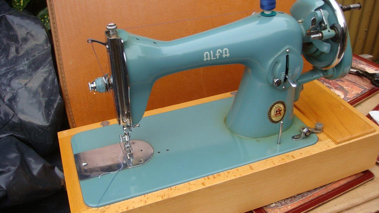Alfa sewing machine manuals.