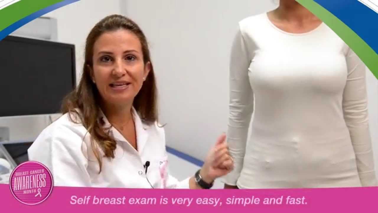 Breast exam tutorial