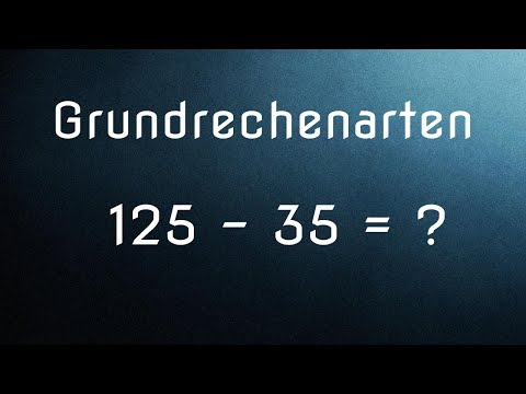 die grundrechenarten addition subtraktion