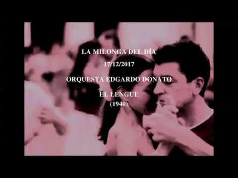 """Orquesta Edgardo Donato """"El Lengue"""" (1940)"""