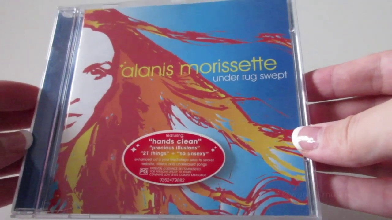 Unboxing Alanis Morissette Under Rug Swept Al Cd 2002