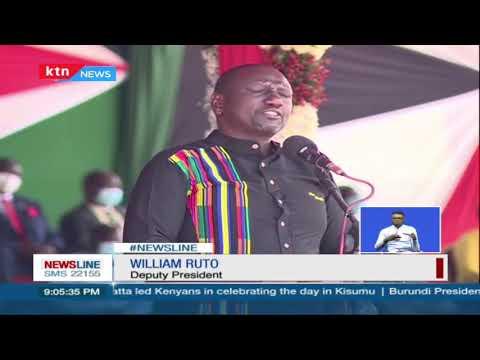 Call for unity among Kenyans during 58th Madaraka Day National Celebrations - Kisumu | 1 Jun 2021