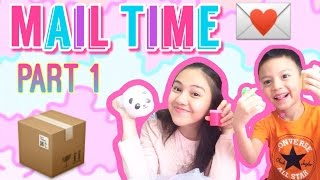 Mail Time Part 1 (Opening/Unpackaging FanMails) || Peachy Liv