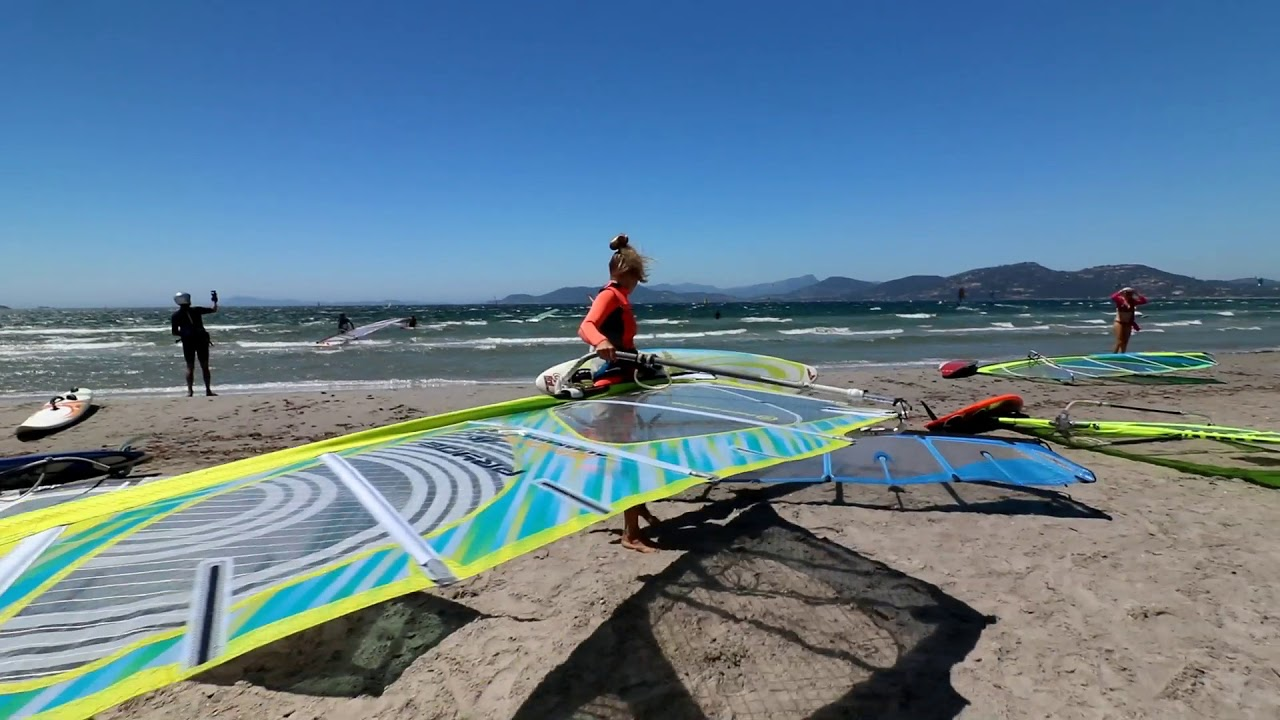 Windsurf Almanarre 2017 Youtube