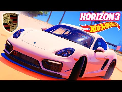 PORSCHE CAYMAN GTS – FORZA HORIZON 3 HOT WHEELS PACK #9 – Lets Play FH3 4K Gameplay German Deutsch
