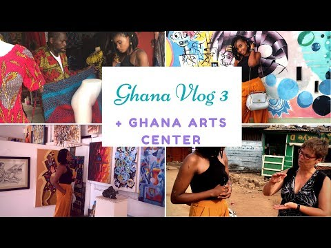 PLACES TO BE IN GHANA (Ep 3) || GHANA ARTS CENTER