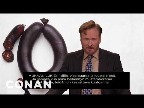 Conan's Statement To Finland 12/15/10