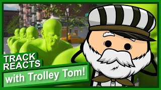Trains, Planes and Shrekcycles: Track Reacts With Trolley Tom | Cyanide and Happiness
