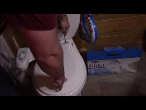 Fill Your Brains & Clean Your Bum - Astor CB-1000 Bidet Installation