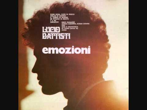 Lucio Battisti - Fiori rosa fiori di pesco (1970)