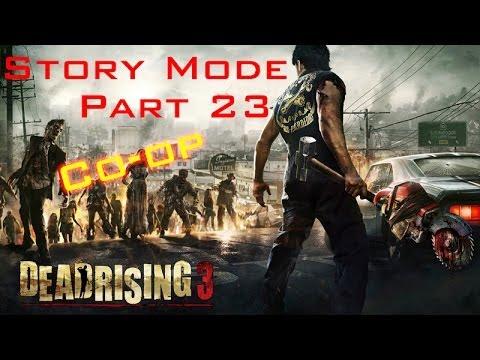Dead Rising 3 - Co op Let's Play 23 Psycho Mission Boss Jheri She's A MAN