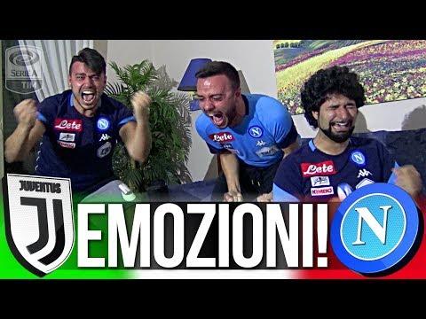 EMOZIONI!!! JUVENTUS 0-1 NAPOLI | LIVE REACTION TIFOSI NAPOLETANI HD