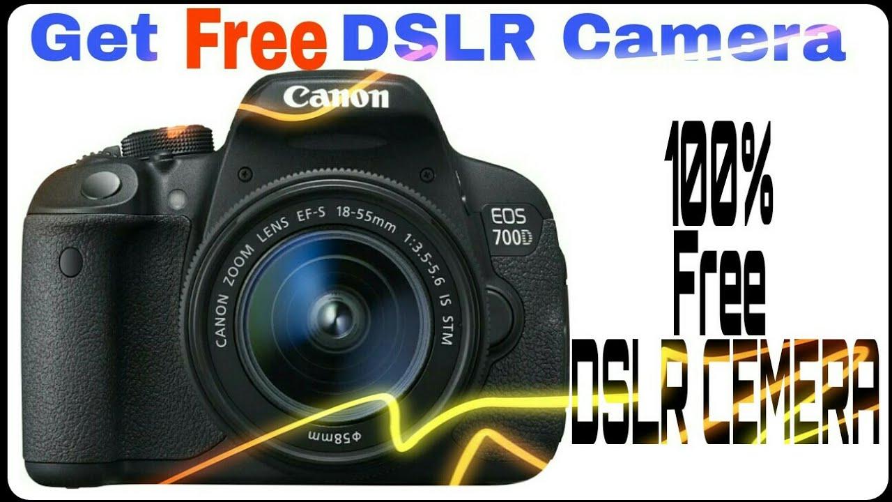 Get free dslr camera