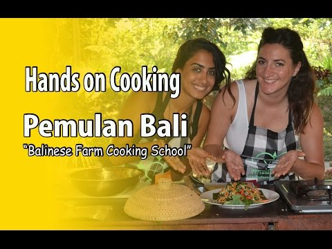 Cooking School Bali - Beautiful set-up Organic Farm and Freshest Local Ingredients (highlight)