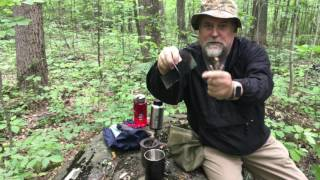 How I made my twig stove