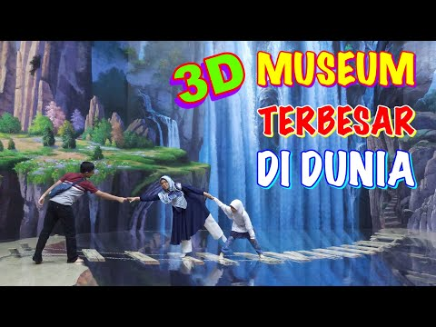 Amazing Art World Bandung Museum 3D (3 Dimensi) di Lembang