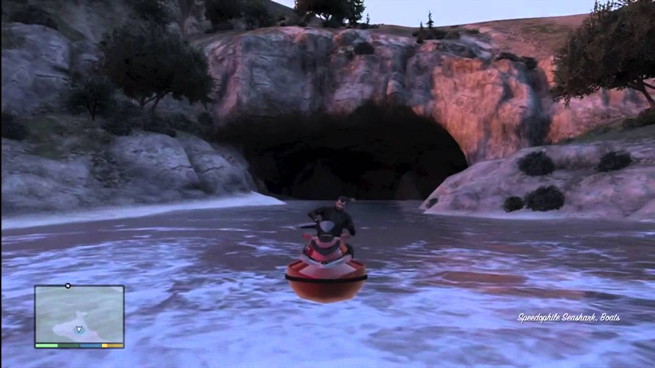 grand theft auto 5 hidden cave easter egg gta v youtube