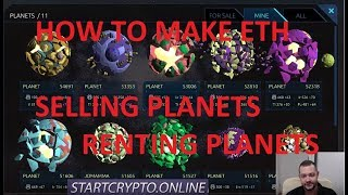 0xUniverse - How to make ETH with Planets and Renting planets