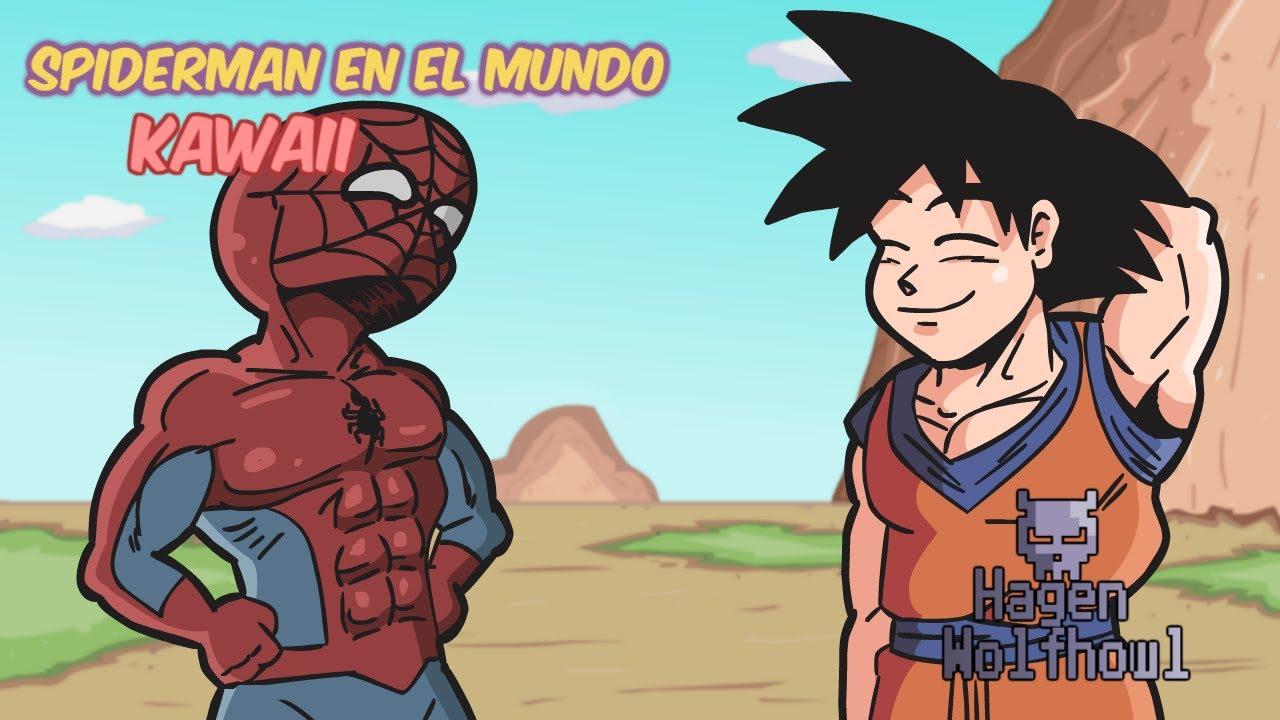 Spiderman en el Mundo Kawaii  YouTube