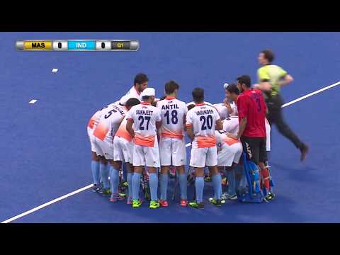 Malaysia v India Day 6 - Bronze medal playoff Sultan of Johor Cup Hockey 2017