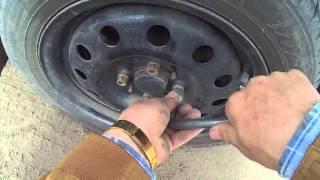 Проверка автомобильных колес Lada Kalina