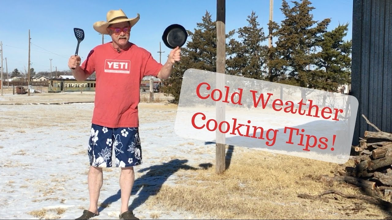 Cold Weather Cooking Tips for Grilling and Dutch Oven ...