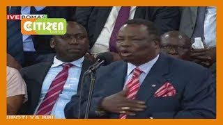 The moment President Kenyatta made Atwoli shed tears