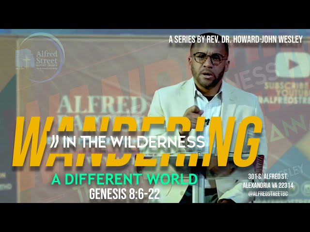 A Different World: Wandering in the Wilderness (Pt. 6) Rev. Dr. Howard-John Wesley