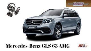 City Car Driving - Mercedes-Benz GLS 63 AMG тест-драйв, обзор