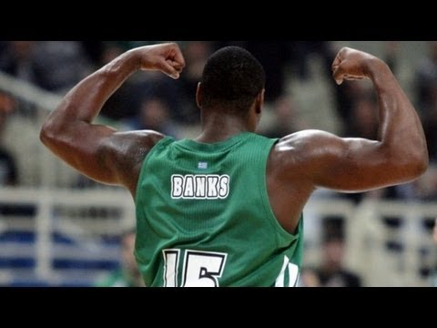 Marcus Banks - Highlights with Panathinaikos 2012/2013