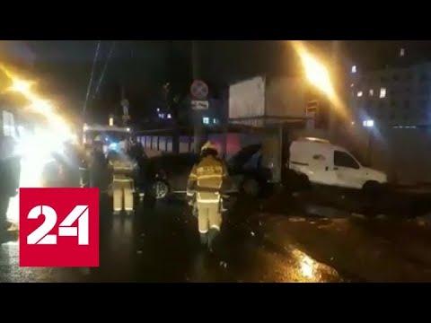 В Нижнем Новгороде задержан водитель, устроивший ДТП в центре города - Россия 24