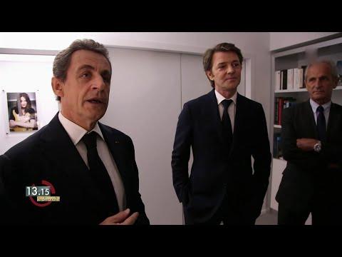 Nicolas Sarkozy glisse une quenelle à François Baroin 26-06-2016