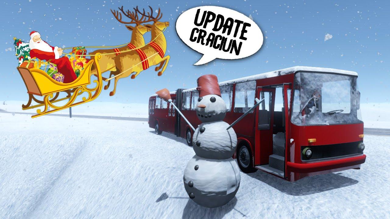 Update de Craciun, Autobuz si Mos Craciun ! The Long Drive