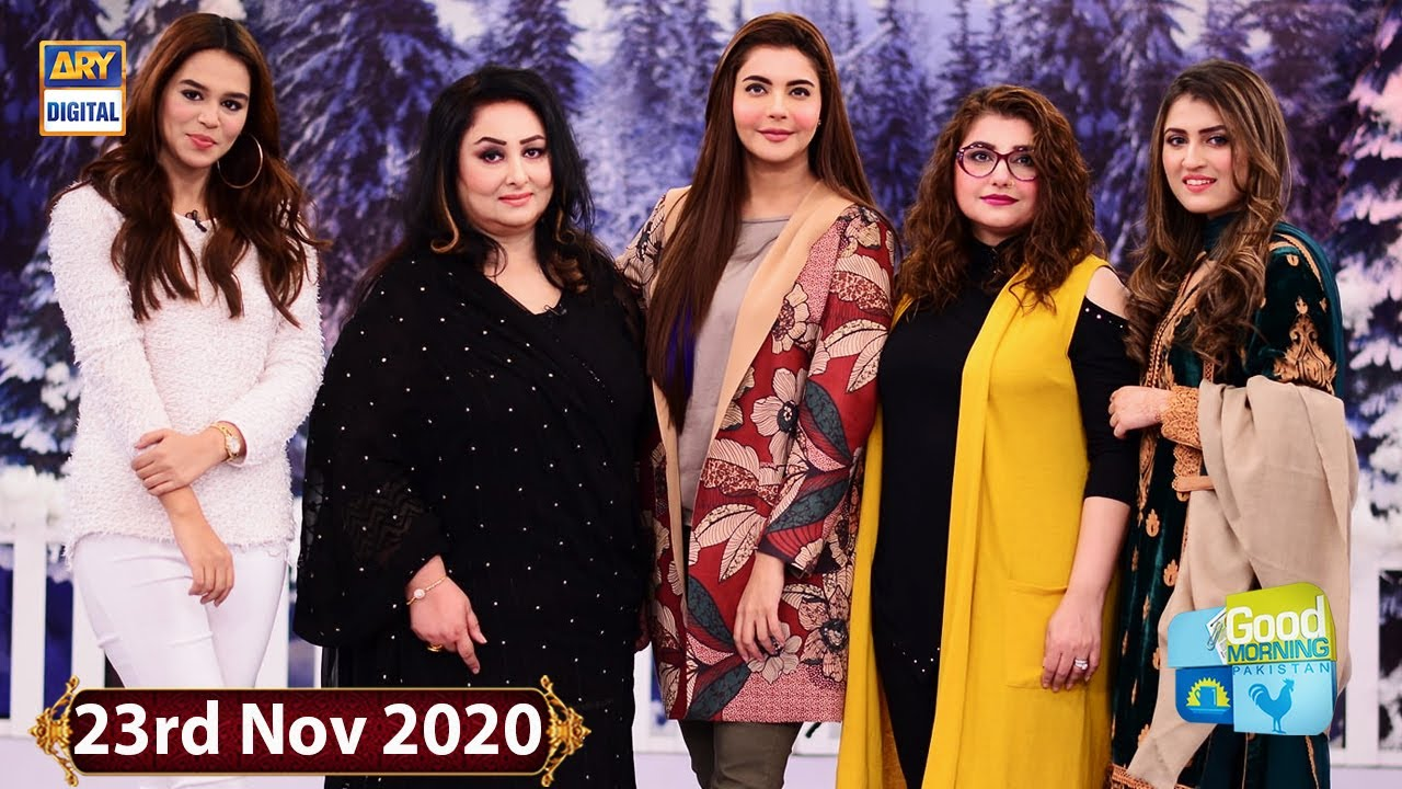 Good Morning Pakistan - Javeria Saud & Tanya Hussain - 23rd November 2020 - ARY Digital Show