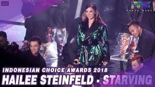 HAILEE STEINFELD (STARVING) - INDONESIAN CHOICE AWARDS 2018 NET. - CLOSING #ICA5