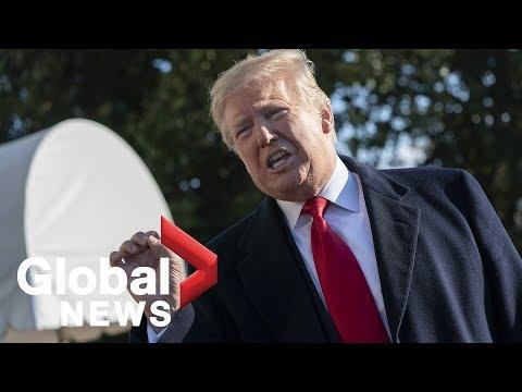 Trump discusses government shutdown, border wall and North Korea