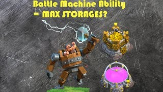Clash of Clans- Unlocking Battle Machine Ability. IS IT OP???