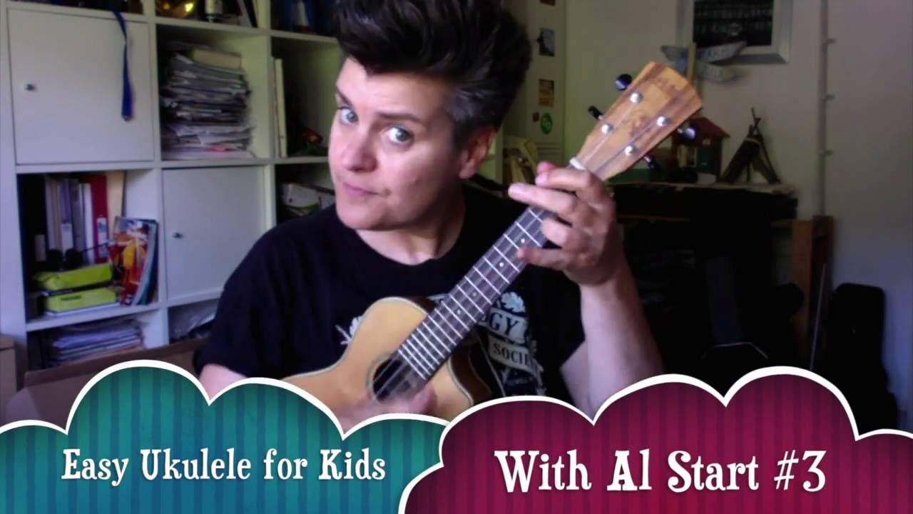 Easy ukulele for kids with al start 3 how to play three little easy ukulele for kids with al start 3 how to play three little birds by bob marley hexwebz Image collections