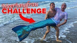 MEERJUNGFRAU CHALLENGE - EXTREM PEINLICH ! 😂 II RayFox