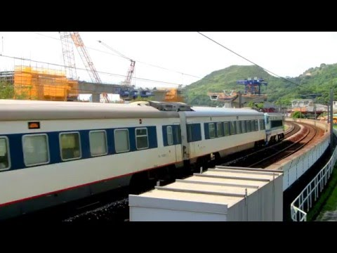 {ICTT} SS8 0192 hauling Z818 Guangzhou Through Train passing Kau Lung Hang