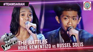 Hobe Rementizo vs Russel Solis | The Battles | The Voice Teens Philippines 2020