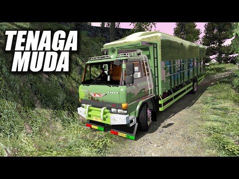 Truk Tua Hino Ranger Di Jalur Maut - Euro Truck Simulator 2 Dead Road Map