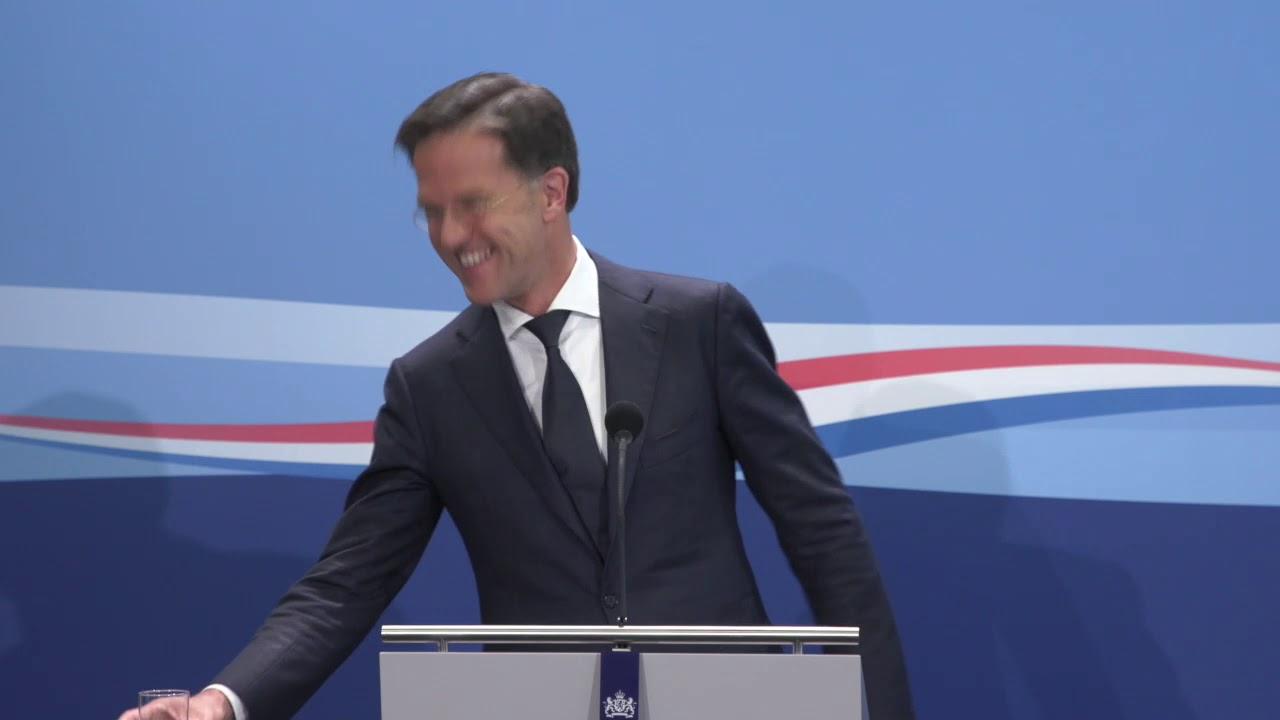 Integrale Persconferentie Van MP Rutte Van 3 Juli 2020