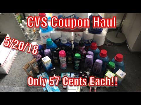 CVS Coupon Haul for Deals 5/20-5/26/18....