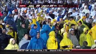 9-26-09 Iowa vs Penn State: Adrian Clayborn Blocks Punt and Returns it for a Touchdown.
