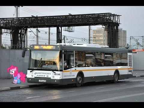 Поездка на автобусе ЛиАЗ-5292.60 (МТА) № 40165 Маршрут № 1064 Люберцы