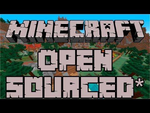 Minecraft Open Sourcing... Sorta*