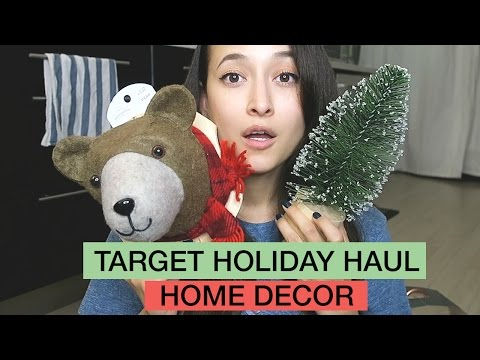 TARGET Holiday Haul/Home Decor | Friedia