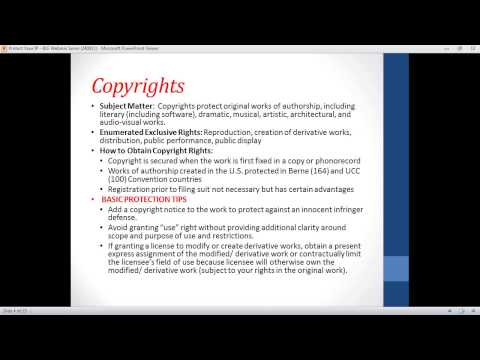 Protect your IP Webinar