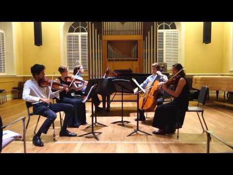 Shostakovich Piano Quintet in g minor mvt IV & V